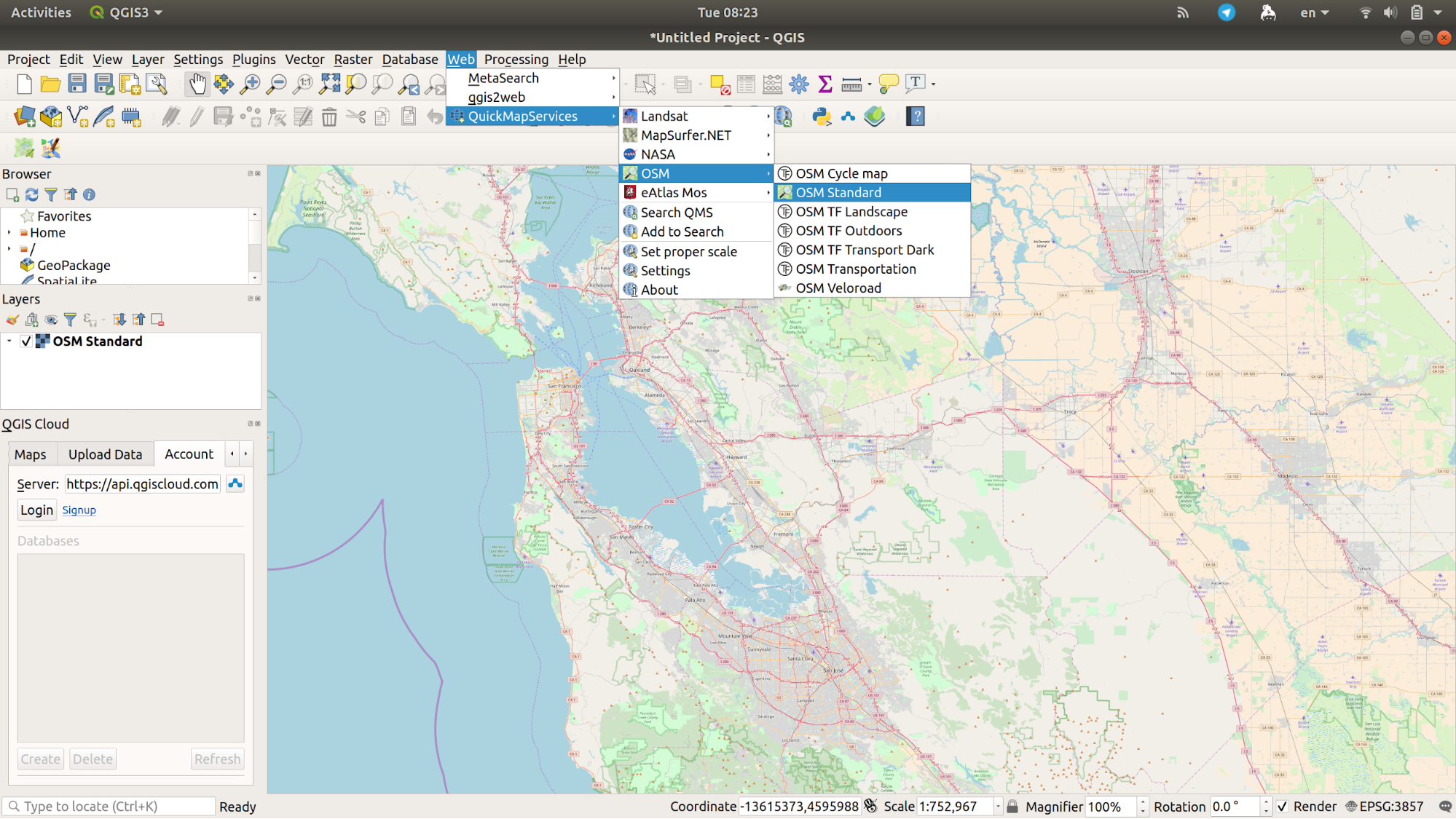 How to create a resiliency map with QGis – Resiliency Maps